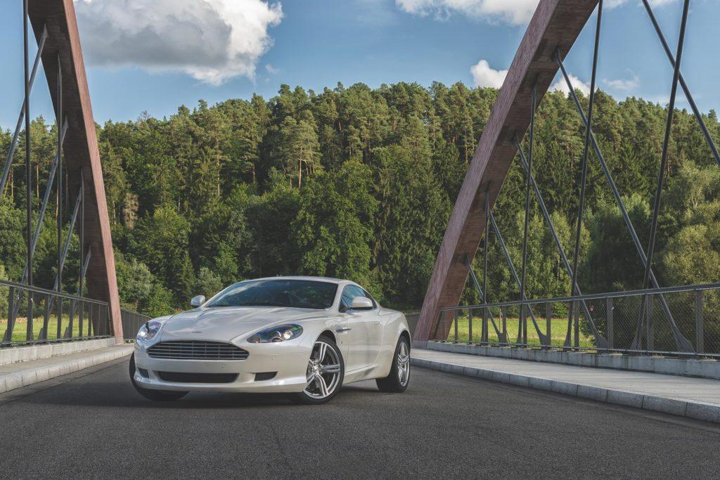 Produktfotografie Aston Martin